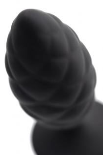 Анальная пробка Erotist Strob M - size, силикон,черная, 13,5 см