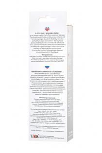 Гибкий фаллоимитатор A-Toys Paret, TPE, прозрачный, 18 см