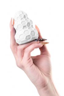 Мастурбатор A-Toys Flaff, TPE, белый, 8см, Ø 2,9 см
