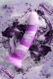 Фаллоимитатор Beyond by Toyfa, Neil, силикон, фиолетовый, 18 см