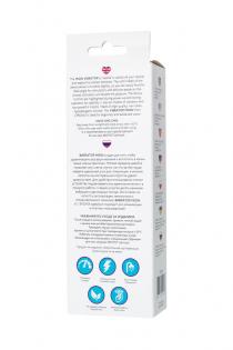 Вибратор с клиторальным стимулятором L'EROINA by TOYFA Mion, силикон, бордовый, 22 см