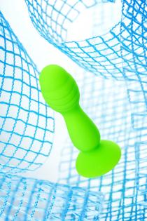 Анальная втулка A-Toys by TOYFA Terg, силикон, зеленый, 10 см