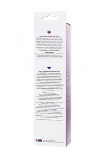 Двусторонний фаллоимитатор A-Toys by TOYFA Tanza, TPE, фиолетовый, 27,5 см