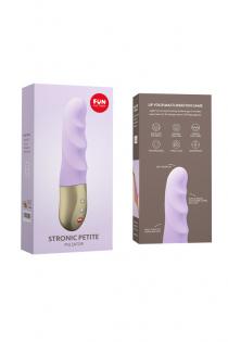 Пульсатор-мини Fun Factory STRONIC PETITE , силикон, лиловый 17 см