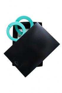 Наручники Штучки-дрючки, силикон, тиффани, 33 см
