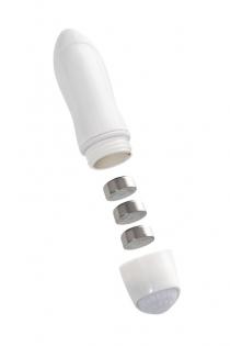 Фаллоимитатор двусторонний с вибропулей TOYFA Double Dildo with Vibro Bullet, TPR, фиолетовый, 35 см