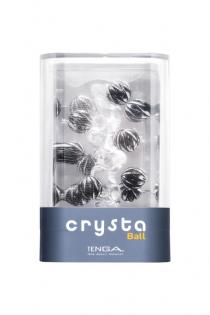 Нереалистичный мастурбатор TENGA Crysta  Ball, TPE, прозрачный, 15,5 см