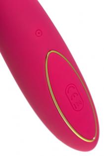 Вибратор с вакуум-волновой стимуляцией JOS Enila, силикон, розовый, 23 см
