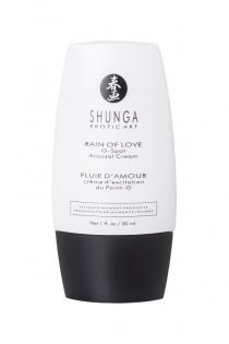 Крем для стимуляции точки G Shunga Rain of love, уникальная формула с L-аргинином, 30 мл.