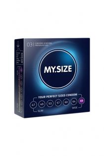 "Презервативы  ""MY.SIZE"" №3 размер 69 (ширина 69mm)"