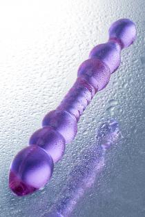 Фаллоимитатор двусторонний Sexus Glass, Стекло, Розовый, 22,8 см
