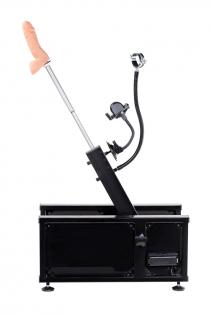 Секс-машина, Diva, Motion,металл, черный, с двумя насадками, 58 см