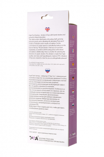 Вибратор с клиторальным стимулятором TOYFA A-Toys  High-Tech fantasy , TPE, Фиолетовый, 25,5 см