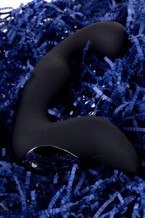Стимулятор простаты Erotist Fifth, cиликон, чёрный, 14,1 см