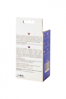 Анальная втулка TOYFA A-Toys, Силикон, Фиолетовый, 12,5 см