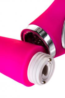 Вибратор JOS PILO с WOW-режимом, силикон, розовый, 20 см