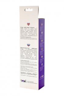 Нереалистичный вибратор TOYFA A-Toys  , Силикон, Фиолетовый, 17 см