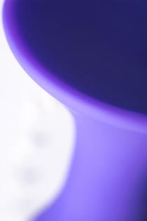 Анальная втулка TOYFA A-Toys, Силикон, Фиолетовый, 10,2 см