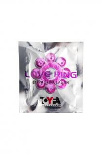 Эрекционное кольцо на пенис TOYFA  , TPE, Розовый