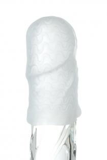 Мастурбатор TOYFA A-Toys Pocket Wavy, TPR, белый, 7,8 см (растягивается до 30 см)