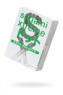 Презервативы латексные Sagami Xtreme Type-E №3