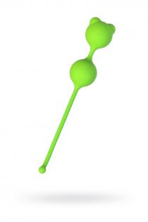 Вагинальные шарики A-Toys by TOYFA, силикон, зеленый, Ø 2,7 см