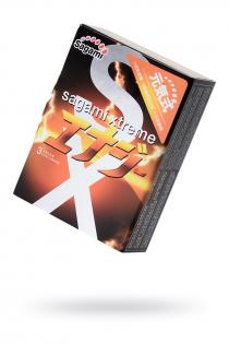 Презервативы латексные Sagami Xtreme Energy №3, 19 см