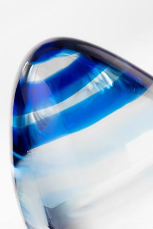 Анальная втулка Sexus Glass, стекло, прозрачная, 11,5 см, Ø 4 см