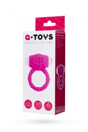 Эрекционное кольцо на пенис TOYFA A-Toys  , Силикон, Розовый, Ø2,5 см