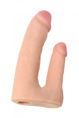 Страпон на креплении TOYFA RealStick Elite, TPR, телесный, 19 см