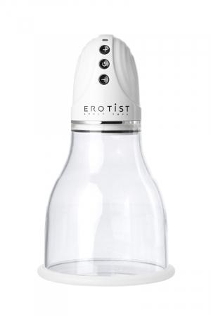 Вакуумная помпа для груди Erotist, ABS пластик, 22 см