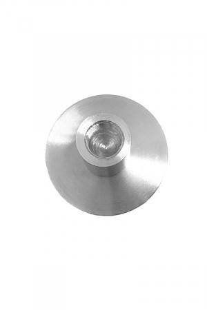 Fleshlight-адаптер, LoveMachines, металл, серебристый