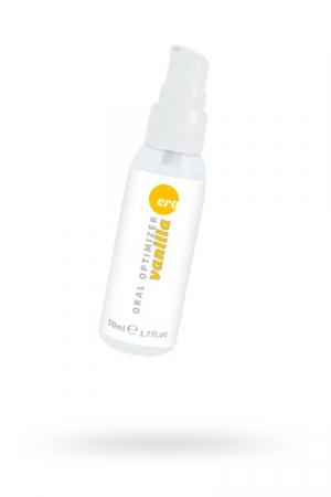 Съедобный гель Gel optimizer для орального секса, с охлаждающим эффектом, со вкусом ванили, 50 мл