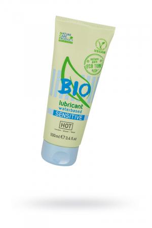 Интимный гель-лубрикант Hot Bio Sensitive, на водной основе, для чувствительной кожи, 100 мл
