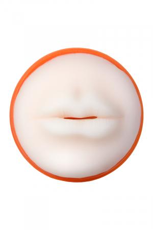 МастурбаторTOYFA A-Toys рот Оранжевый/телесный 14cm